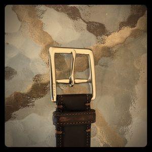 Coach Accessories - Original Brown Men's Coach Belt, size 40